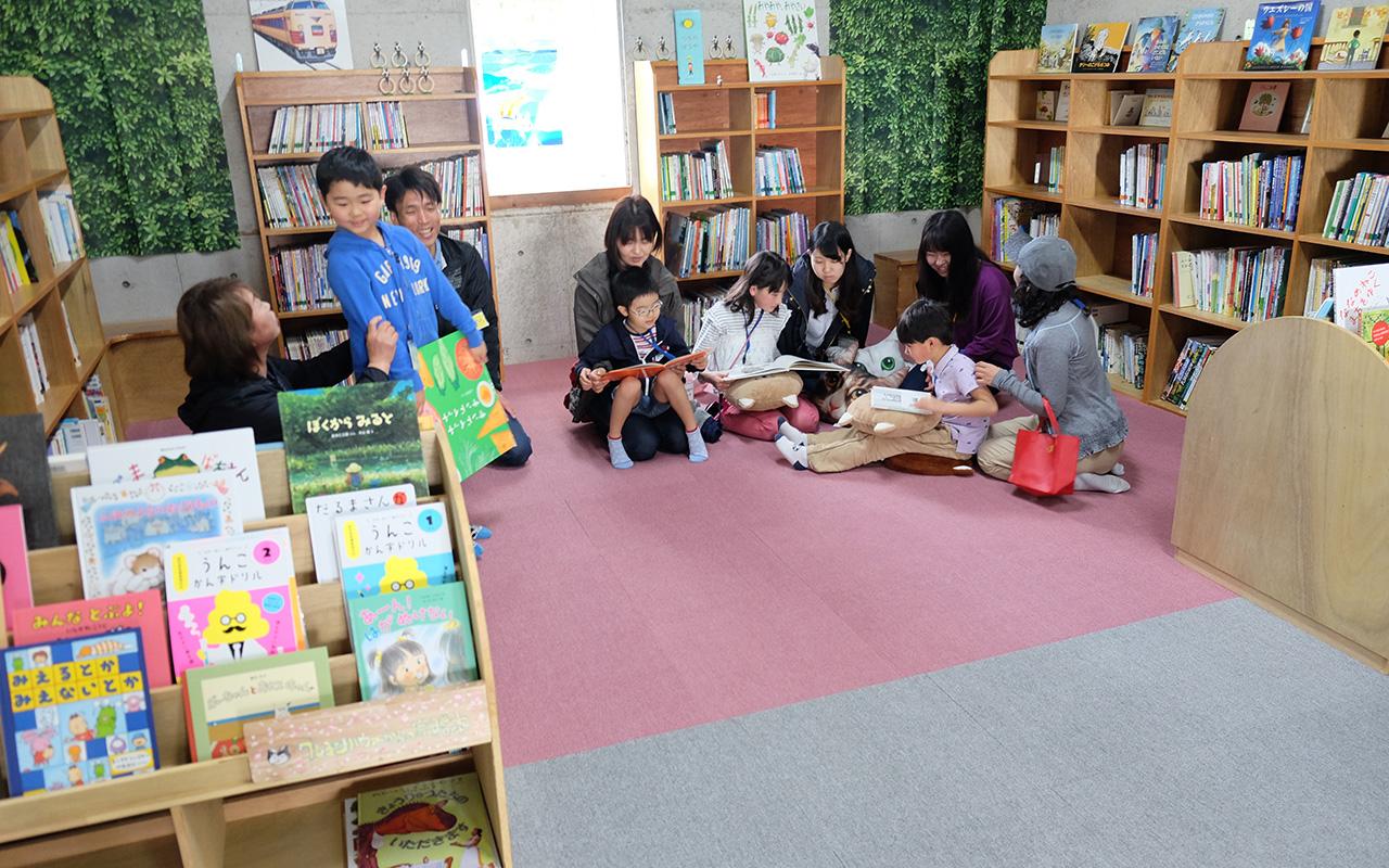 【図書館】小さい子のコーナー