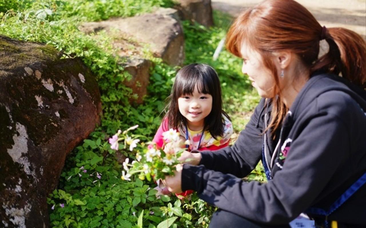 【花々】施設内は花や月桃など植物がたくさん♡